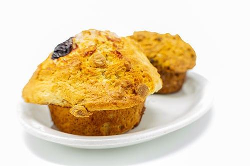 breakfast blueberry muffins