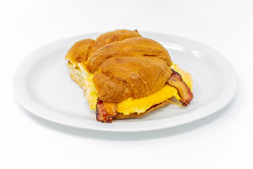breakfast breakfast sandwich croissant