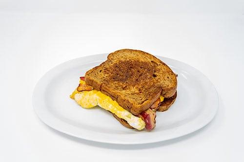 breakfast breakfast sandwich walnut wheat bread