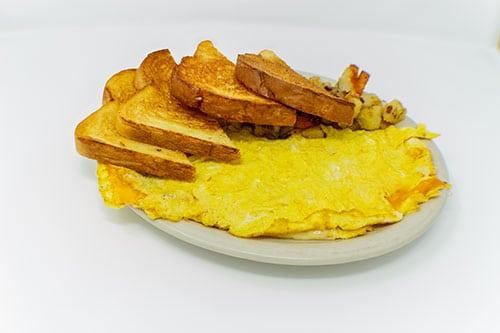 breakfast cheese omelette