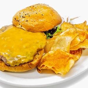 burgers cheeseburger