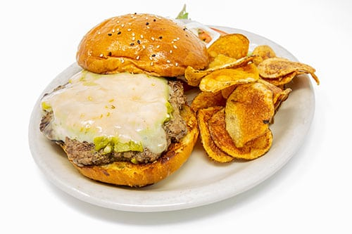 burgers green chile cheeseburger