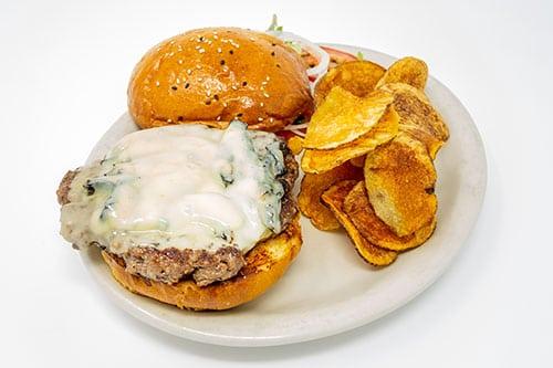 burgers portobello swiss burger