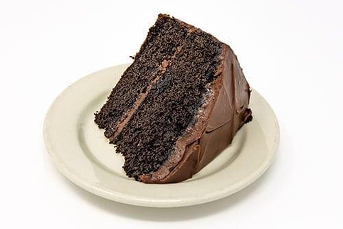 wooglins desserts chocolate cake slice