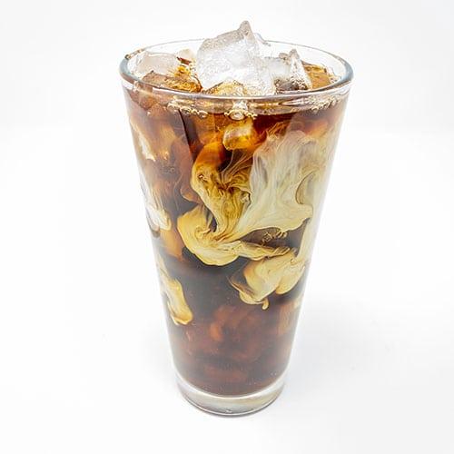 drinks iced coffee