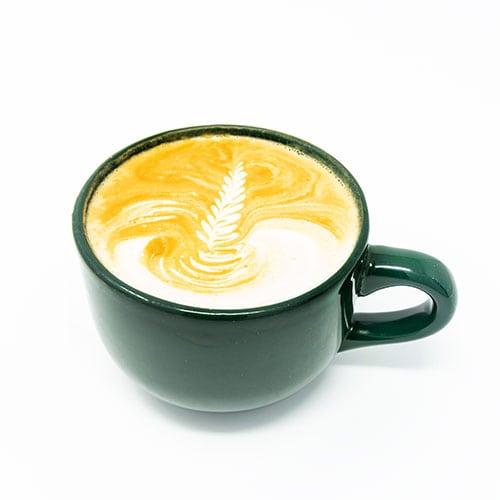 drinks latte