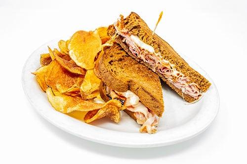 grilled sandwiches ham swiss