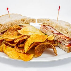 overstuffed sandwiches and wraps club