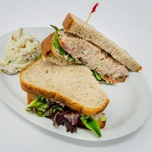 overstuffed sandwiches and wraps tuna salad
