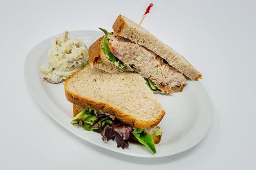 overstuffed sandwiches and wraps tuna salad