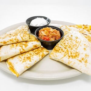 quesadilla black bean cheddar quesadilla