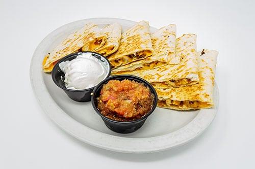 quesadilla grilled chicken cheddar quesadilla