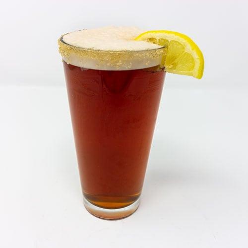 wooglins drinks frothy peach iced tea